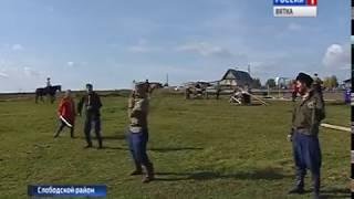 В Слободском районе прошли соревнования по джигитовке(ГТРК Вятка)