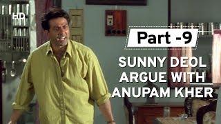 Sunny Deol tries to save Anupam Kher [Part 9] Salaakhen | Raveena Tandon | Hindi Action Movie