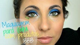 Maquiagem para Copa com produtos BBB - Paula Souza