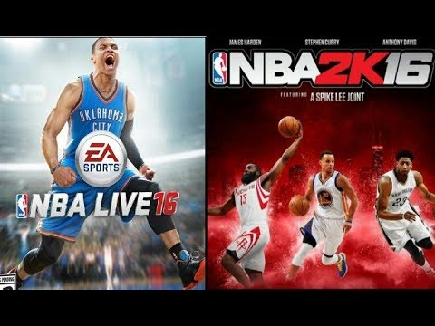 Nba2K16 vs Nba Live 16 Trailer Comparison