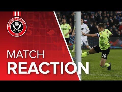 Chris Wilder's Swansea reaction