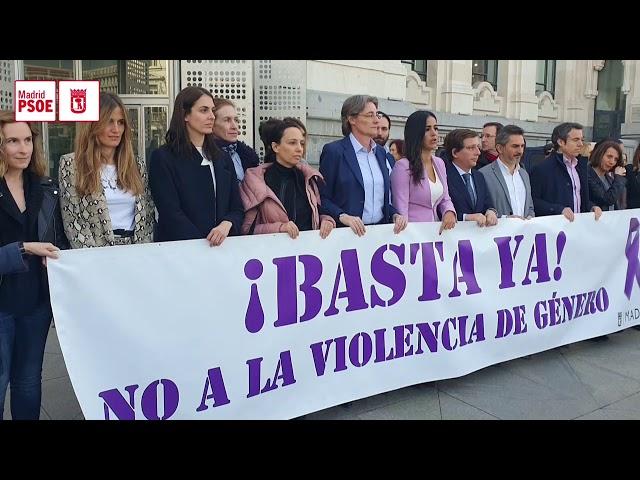 El PSOE se suma al minuto de silencio por la última víctima de violencia de género