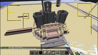 Minecraft::CubeKrowd:Let's Play Survival Mode Episode 9-Reunion Tower Base