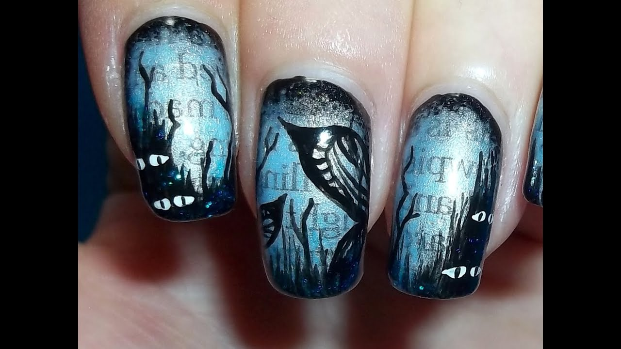 scary fairy nails