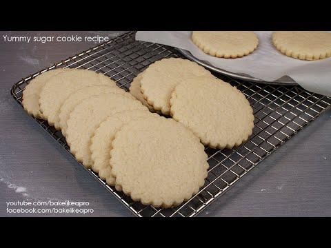 Yummy Sugar Cookie Recipe