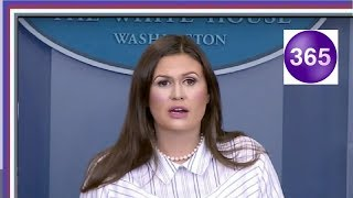 Reporter Asked Sarah Sanders If Trump Read Hillary's Book, Her Response Made Him CHOKE thumbnail