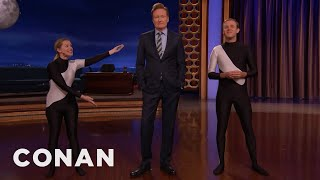 Laid Off SeaWorld Trainers Hired At CONAN  - CONAN on TBS