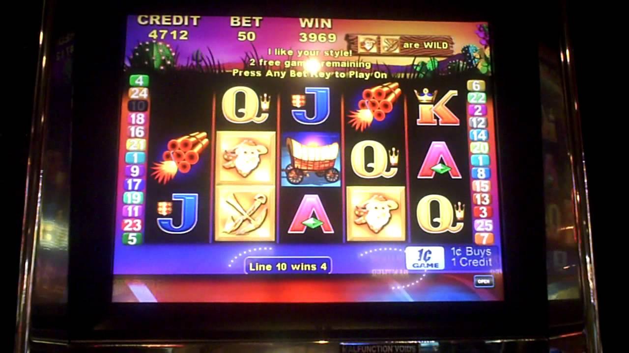 The Gold Slot Machine