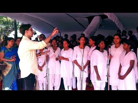 Patriotic group song by RLV students of Amal Antony Agustín | Kochin district Republic day