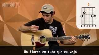 Flores - Titãs (aula de violão simplificada)