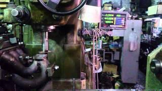 Фрезеровка фланца турбины t25(, 2014-04-09T19:44:27.000Z)