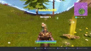 Fortnite:- Thanos skybase glitch, patched