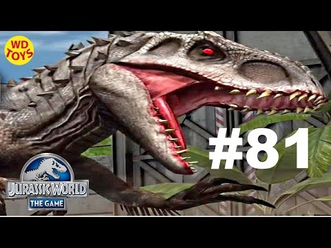 Jurassic World - The Game Dinosaurs Ludia Episode 81  New Indominus Rex Vs  Gameplay  - WD Toys