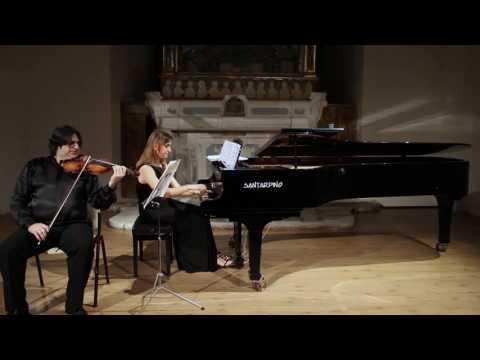 TORTORELLI & MELUSO play E.Grieg: Sonata n.3 op.45