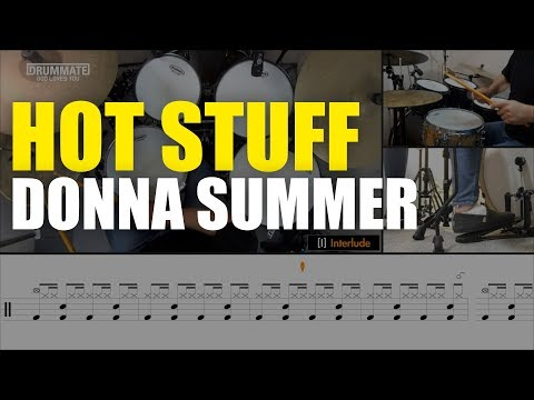 Hot Stuff - Donna Summer | Drum Cover, Sheem Music, Lessons