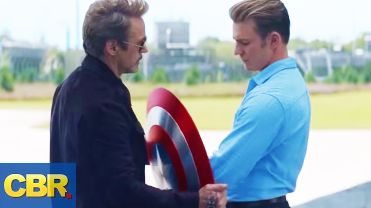 What Nobody Realized About Tony Stark and Steve Rogers In Avengers Endgame