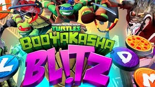 BOOYAKASHA BLITZ! playthrough / Teenage Mutant Ninja Turtles: Booyakasha Blitz gameplay Part 1