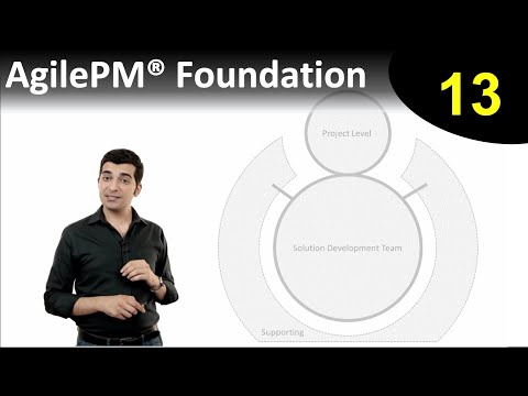Lesson 13: Roles and Responsibilities  | AgilePM Foundation