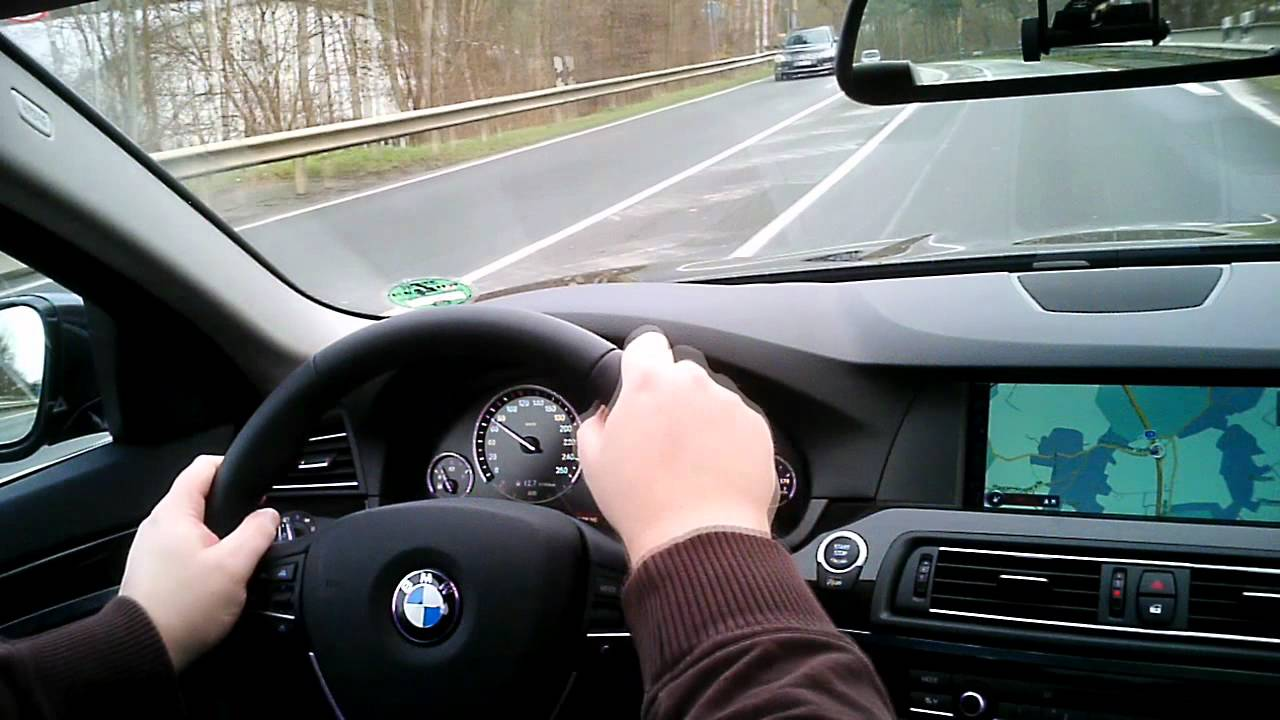 Bmw 535i F10 A Fast Drive On The German Autobahn Youtube