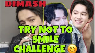 DIMASH KUDAIBERGEN  - TRY NOT TO SMILE CHALLENGE