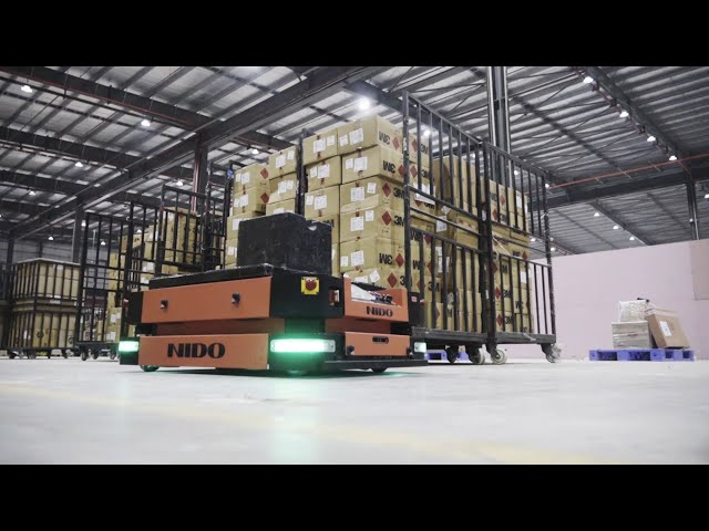 Intra logistics, Supply Chain & Material Handling Automation Solutions - Nido Automation