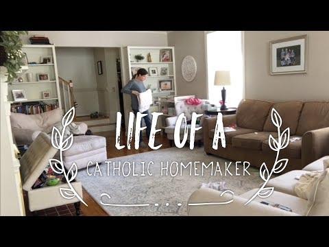 A Catholic Homemaker's Life Vlog #Vlent