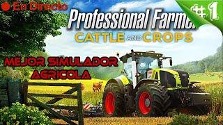 Professional Farmer: Cattle and Crops 2020 #1 🚜 - Mejor SImulador Agricola - Español HD screenshot 1