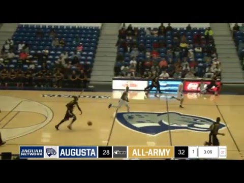 MBB: Augusta University hosts All-Army (Exhibition)