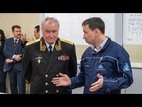 Экс-главнокомандующий Военно-морским флотом России посетил Калининскую АЭС