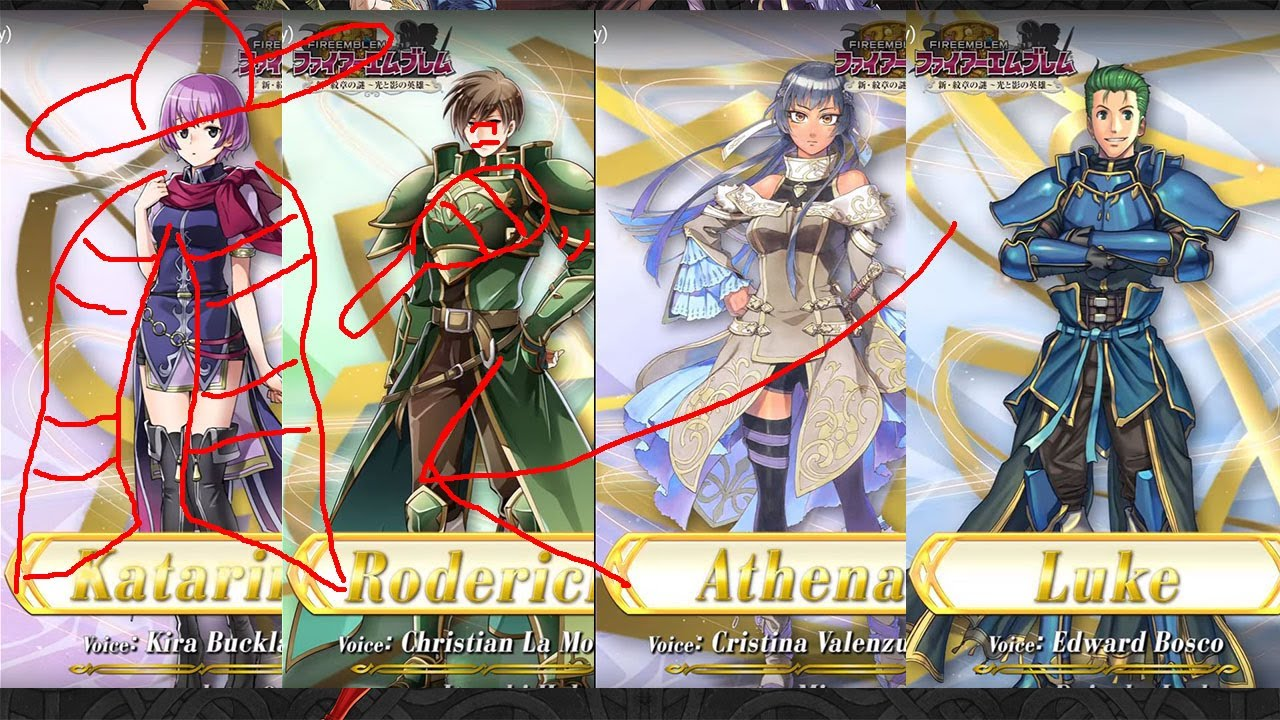 Katarina Katarina Epic Pulls Fire Emblem Heroes Echoes Of Mystery