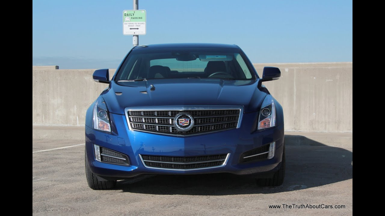2013 Cadillac ATS 3 6 AWD Road Test & Review (with CUE review)