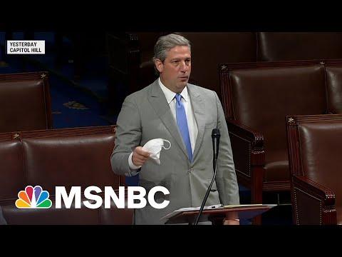 Rep. Ryan Criticizes Leader McCarthy For Mocking House Mask Mandate