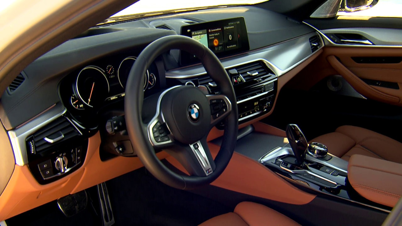 2017 Bmw 540i Interior Design Youtube