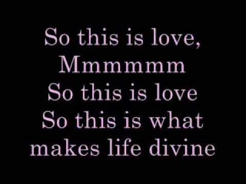 So This is Love   lyrics