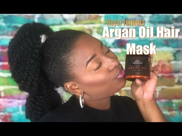 Argan Oil Hair Mask Royal Formula || Vicariously Me