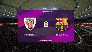 Pes 2020   athletic bilbao vs fc barcelona - copa del rey 06/02/2020 1080p 60fps