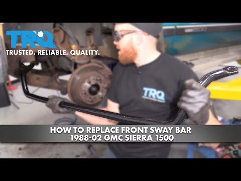 How to Replace Front Sway Bar 1988-02 GMC Sierra 1500
