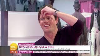 Kris Marshall on GMB chatting Trick or Treat