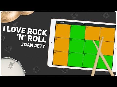 I LOVE ROCK 'n' ROLL (Joan Jett) - SUPER PADS DRUMS - Kit Rockstar