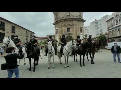 Un operativo especial a caballo velará por la seguridad en el Camiño Portugués