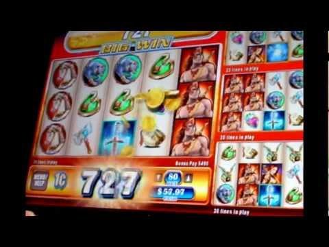 SIlver Sword - Big Win & Bonus  - 1c WMS Slots Game