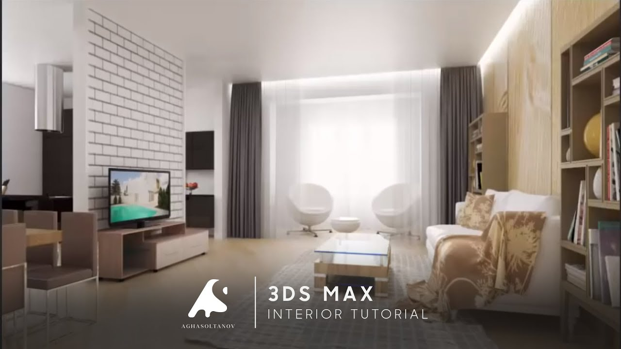 3d Max Interior Design Modeling Tutorial Vray Photoshopcameraraw 2016 Hd Youtube
