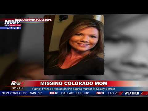 FIANCE ARRESTED: Patrick Frazee charged with murder of Colorado mom missing since Thanksgiving