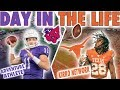 Day In The Life of A D1 College Football Player VS Day In The Life of A D3 College Football Player