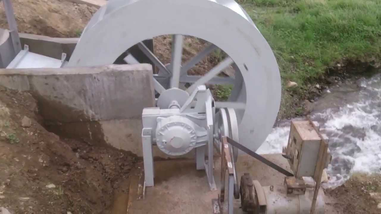 water wheel power youtube