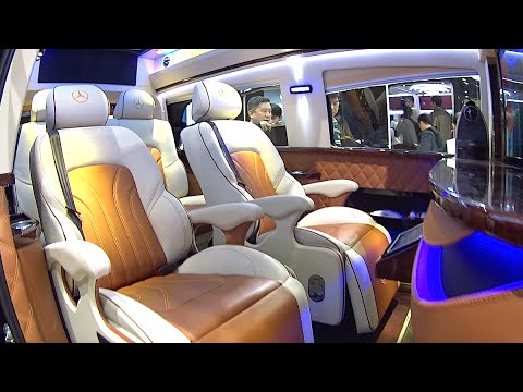 2016, 2017 Mercedes Vito Large Luxury VAN