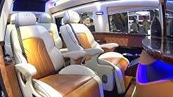 2016, 2017 Mercedes Vito Large Luxury VAN