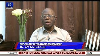 Oshiomhole's Reaction To DSS Grilling Pt.1 | Sunday Politics |