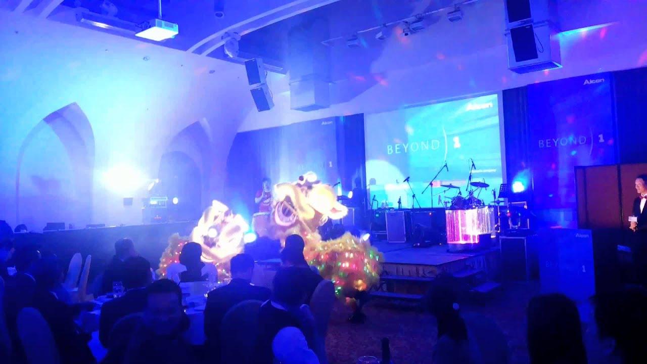 楊丞琳代言:愛爾康睛艷「金好運,星鑽晶」新品發表記者會,聖義龍獅團-LED獅晚宴開場演出,表演服務電話:0933-225518
