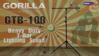 Gorilla GTB-100 Heavy Duty T-Bar Lighting Stand